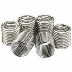 S S Spring Type Helicoil Inserts, Size: Size 2 mm To 42 mm & 1/8 To 1 Bsp/bsw