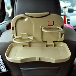 Foldable Dining Car Meal Drink Tray