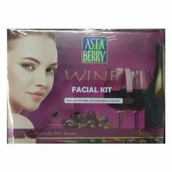 Herbal Minerals Asta Berry Facial Kit, for Face