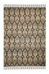 Handwoven Lt Grey & Natural Buy Online Handmade Jute Area Rugs Collection, Size: 160x230cm