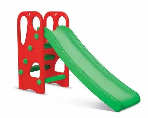 AV Furnitures Red & Green 1 Plastic Slide