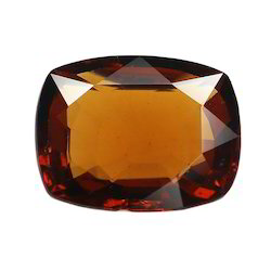Natural Hessonite Stone (Gomed)