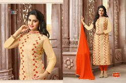 Embroider Georgette Salwar Suit
