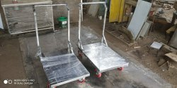 Stainless Steel Material Handling Trolley