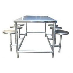 SS Table with Chair