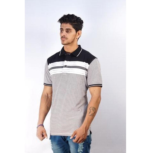 4bbcca94e68 ML   XXL Cotton Mens Half Sleeve Casual Wear T Shirt
