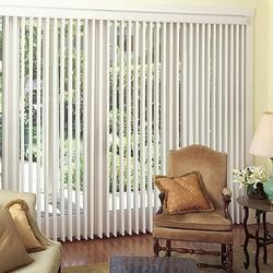 PVC Plain White Vertical Blind