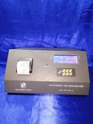 Automobile Exhaust Gas Analyser