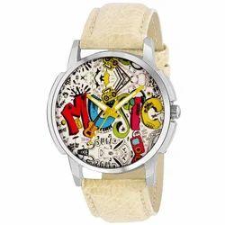 ONS Leather Belt Wrist Watch