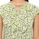 Yash Gallery Women's Rayon Printed Top
