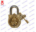 Lock W/Keys Lotus Kwanyin Design