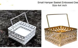 Metal Hamper Basket