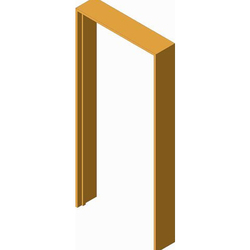 Rectangular Wooden Door Frame