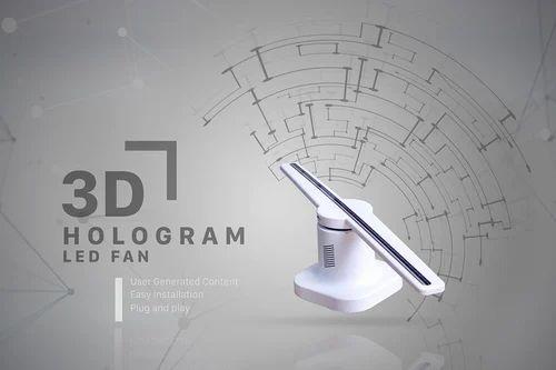 3d Advertisement Hologram Hypervsn Fan