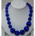 Glass Beads Fashion Necklace, Size: Adjustable