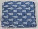 Hand Block Printed Indigo Fabric
