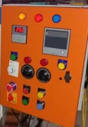 SE&E Automatic Hydraulic Press Machine Control Panel, For Industrial, Operating Voltage: 220 V