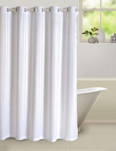 Swayam Curtain Concept Plain Polyester Premium Shower 72x80 Multicolor CHW 5500