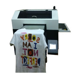 ccdc0f67 Multicolor Garment T-Shirt Printing Machine, Capacity: 1-50 Pieces/hour