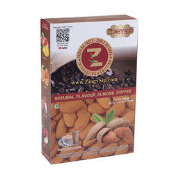 Zingysip Instant Almond Coffee - 100 Gm. Pack