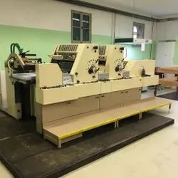 Mild Steel Polly 725 Offset Printing Machine, For Industrial, Automatic Grade: Semi-Automatic