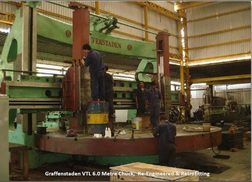 Graffenstaden VTL 6 Metre Chuck Retrofitting Service, for Industrial