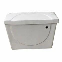 White Flushing Cistern