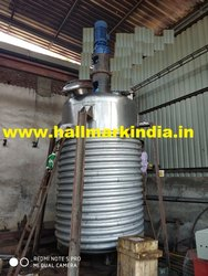 Stainless Steel Chemical Reaction Vessel