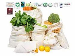 Gots Organic Cotton Veg Bag