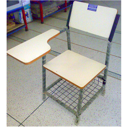 Student Chair With Writing Pad Ply Seat Back Heavy Quality