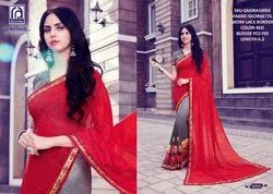 Rachna Georgette Shakira Catalog Saree Set For Woman 2