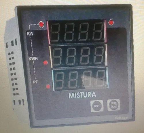 3 Phase Single Phase Digital Multifunction Meter, 220-240 V