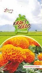 African Marigold Dubble Orange Seeds