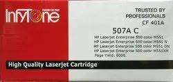 507A C (CF 401A) Compatible Colour Toner Cartridge For HP Printers
