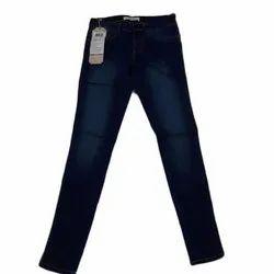 Blue Skinny Wrangler Ladies Denim Stretchable Jeans, Waist Size: 26 - 36 Inches