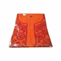 Party Wear Cotton Ladies Chikan Salwar Suit, 2.5 M