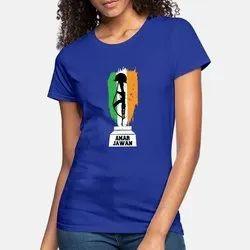MJW Women Ladies T Shirt, Printing