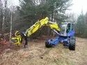 Spider Walking Excavator