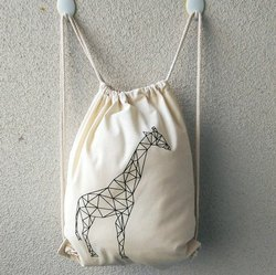 Cotton Drawstring Bagpack