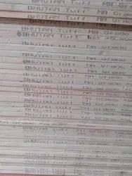 Bhutan Tuff Plywood, 8x4, Thickness: 19 Mm