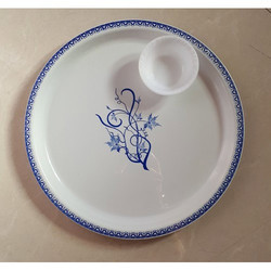 Plastic Dinner Plates with Bowls