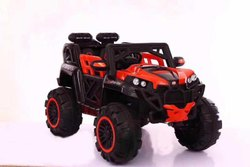 Red And Black Battery Operated Child Car