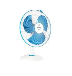 Usha Maxx Air 400mm Table Fan (Blue) - HELIX