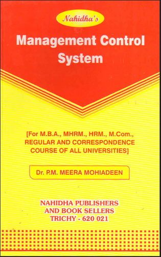 Management Control System Book