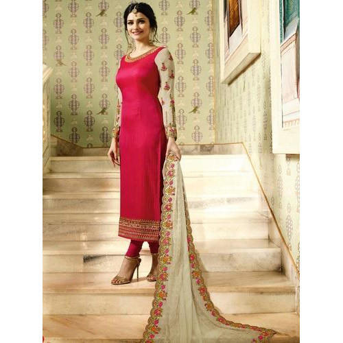 f4b6356a54 Party Wear Unstitched Ladies Designer Embroidered Suit, Rs 1300 ...