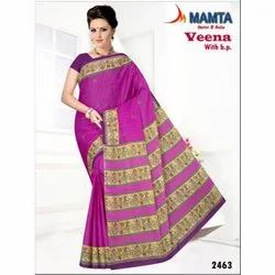 Party Wear Printed Ladies Ethnic Modern Designer Saree 6 m (With Blouse Piece)