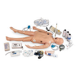 Deluxe Child Crisis Manikin With ECG Simulator