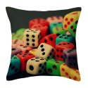 Designer Ludo Cushion Cover