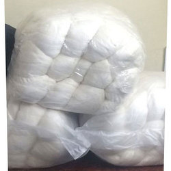 White Plain Raw Silk Yarn