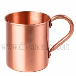 Plain Pure Copper Beer Mug